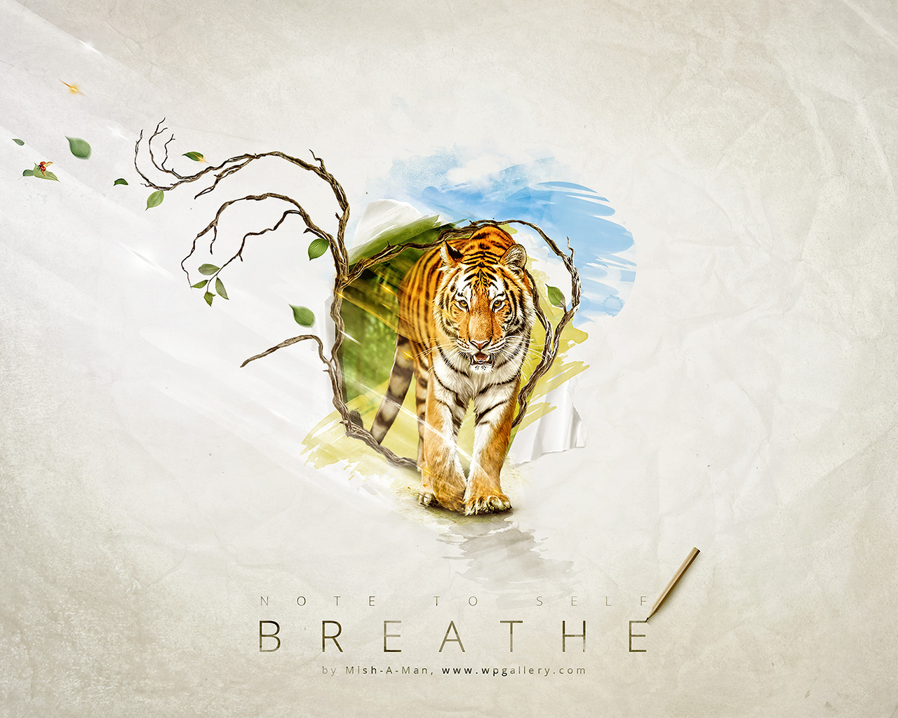 Breathe for 1280 x 1024 resolution
