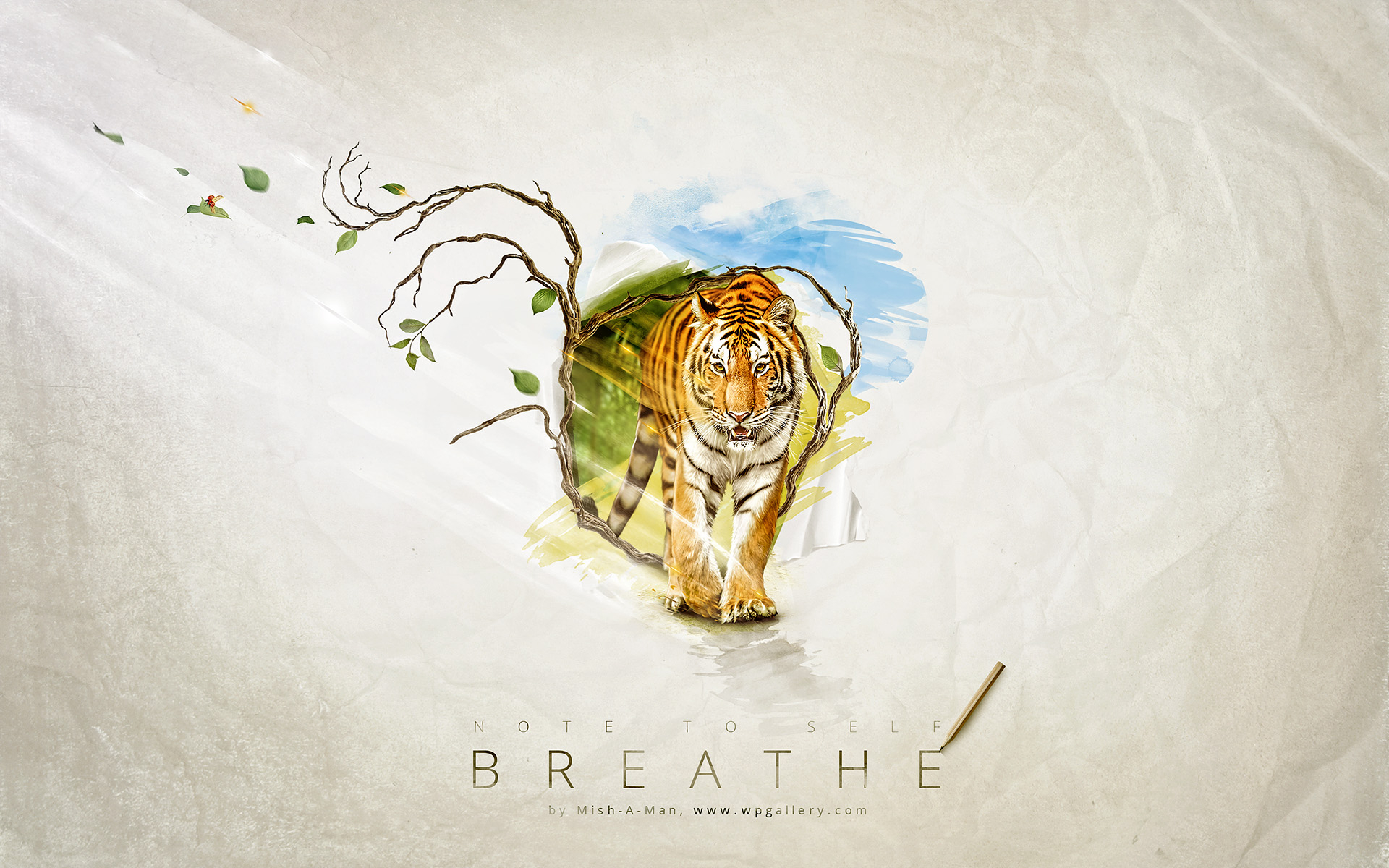 Breathe for 1920 x 1200 widescreen resolution