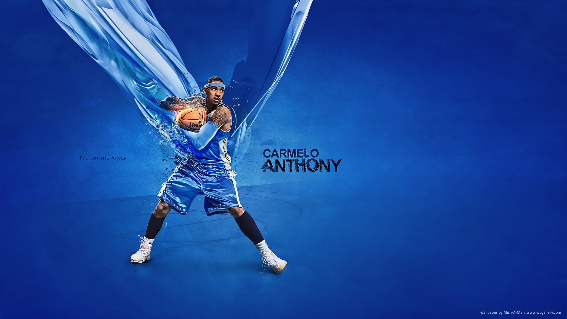 Carmelo Anthony by Mish-A-Man