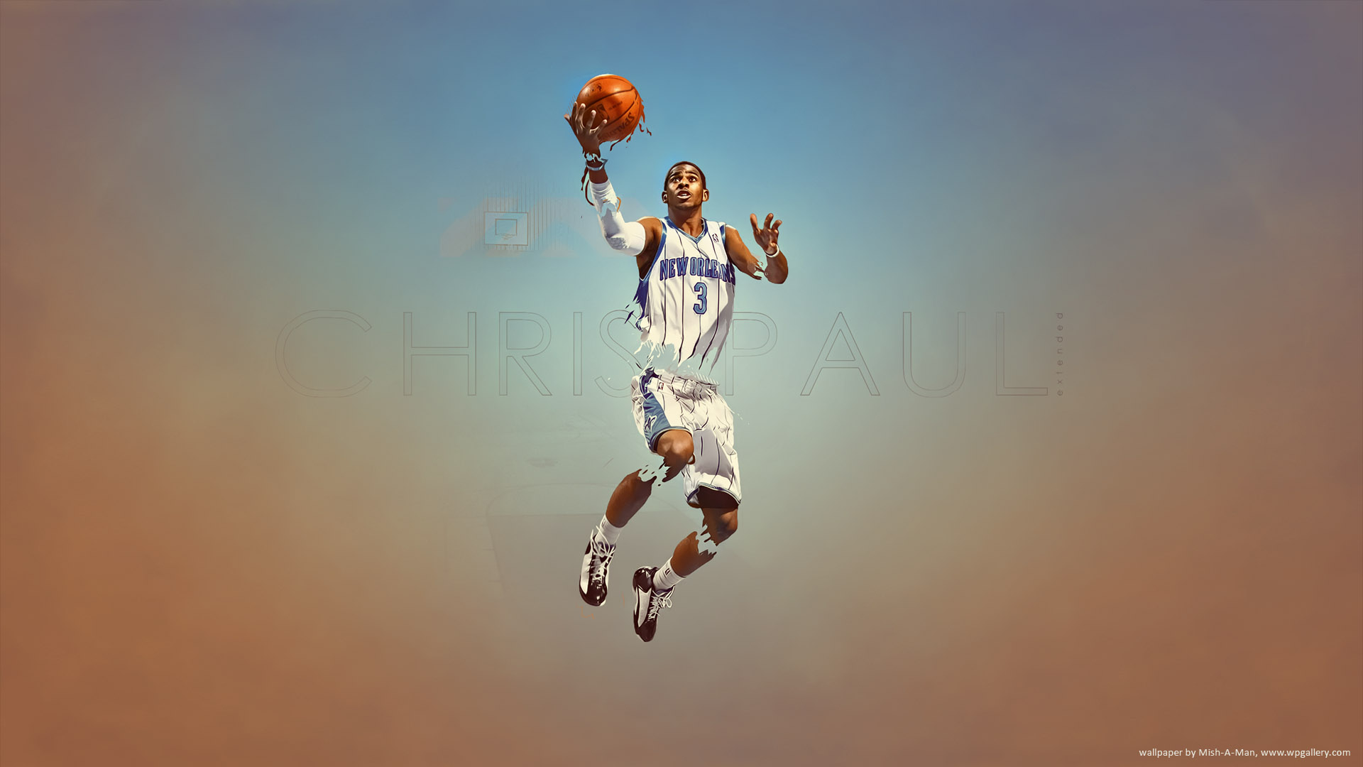 Chris Paul by Mish-A-Man