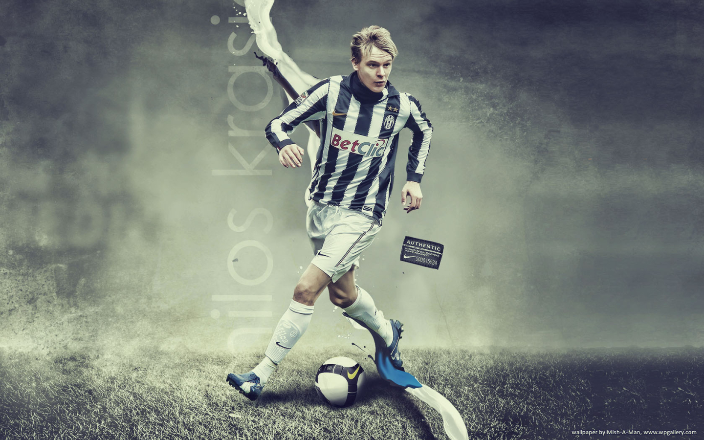 Milos Krasic for 1440 x 900 widescreen resolution