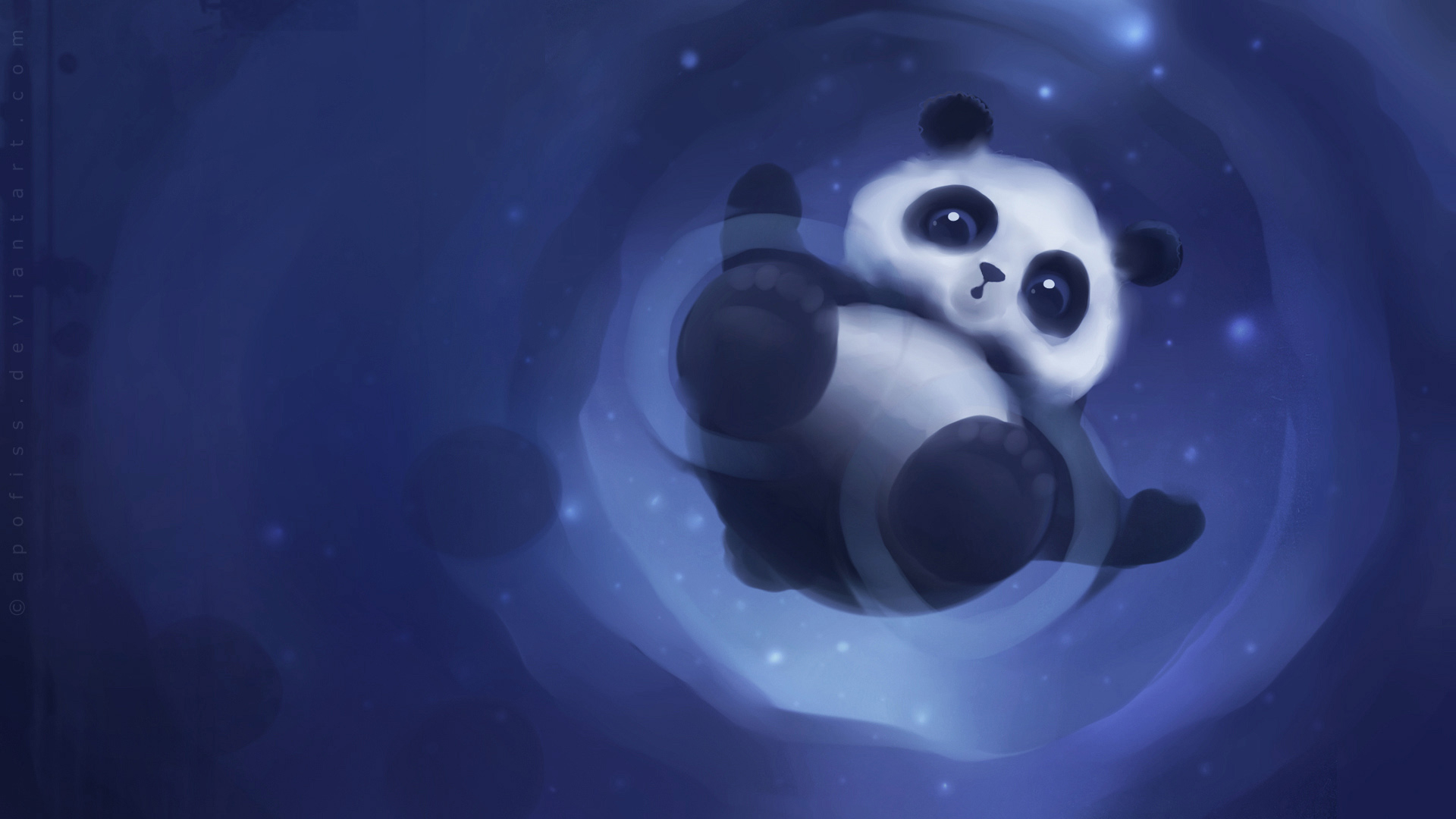 Panda Paper for 1920 x 1080 HDTV 1080p resolution