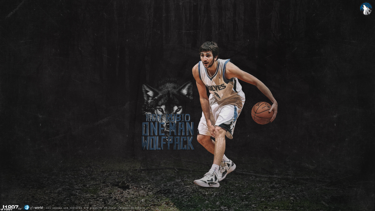 Ricky Rubio for 1280 x 720 HDTV 720p resolution