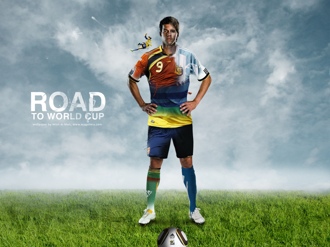 Road to World Cup for 1152 x 864 resolution