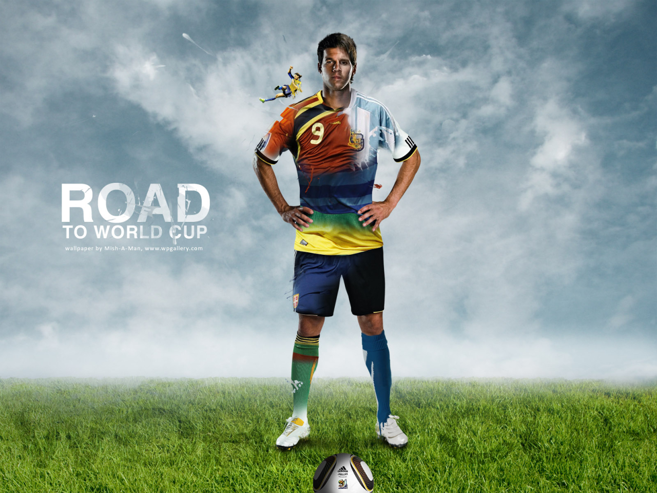 Road to World Cup for 1280 x 960 resolution