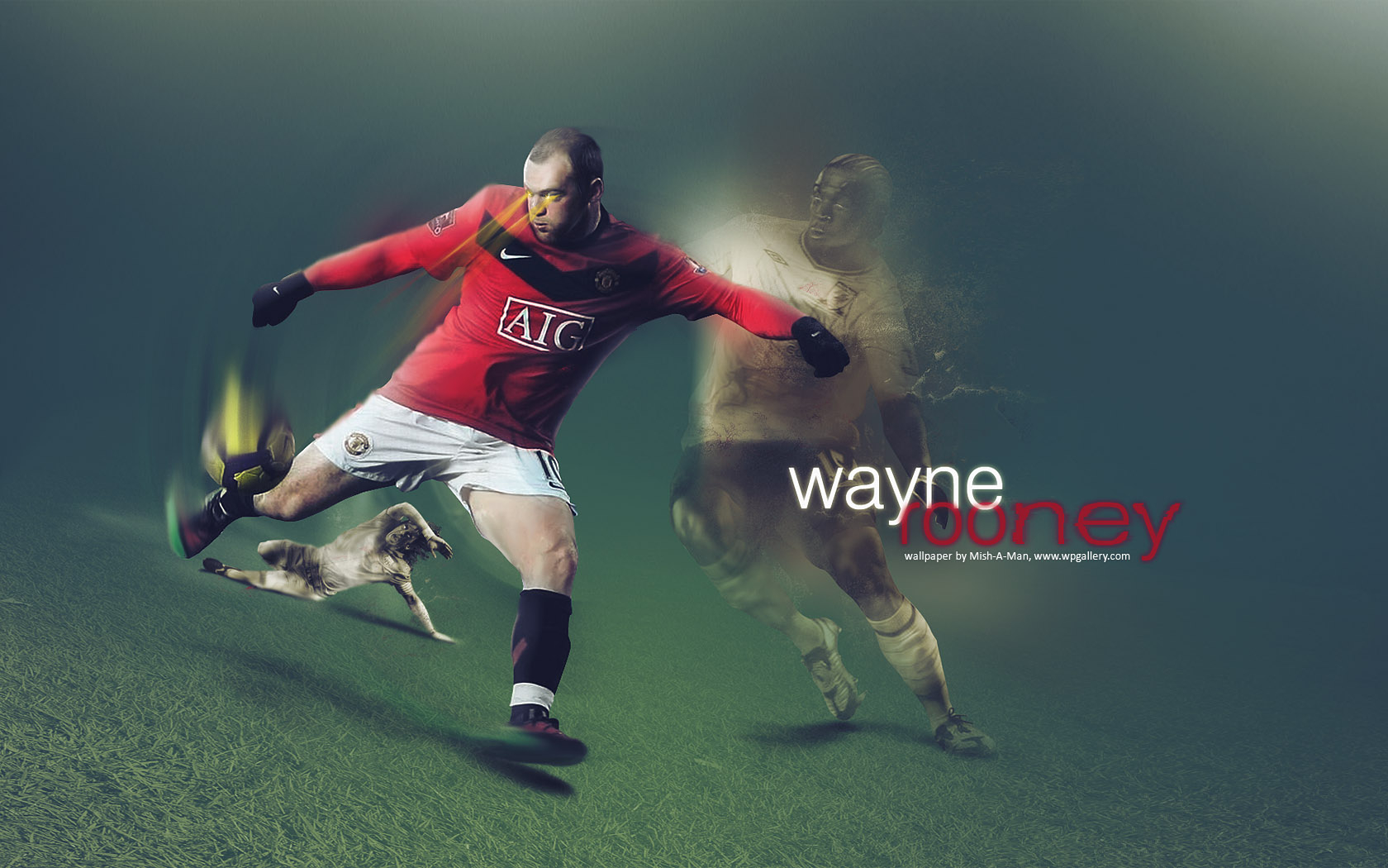 Wayne Rooney by Mish-A-Man