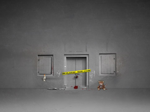 Crime Scene by Mish-A-Man