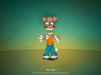 The Mice Wallpaper