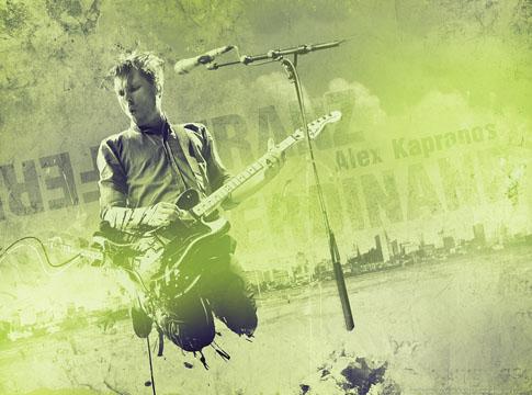 Franz Ferdinand - Alex Kapranos by Mish-A-Man