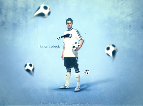 Michael Ballack by Mish-A-Man