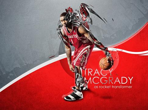 Tracy McGrady by Mish-A-Man
