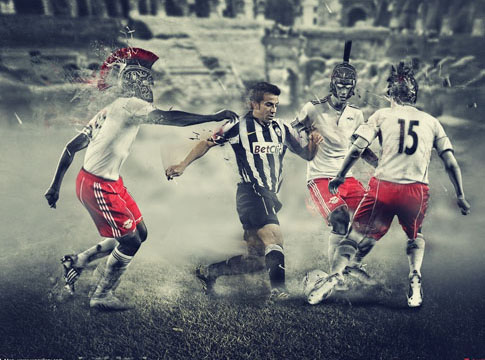 Del Piero vs Rome by Mish-A-Man