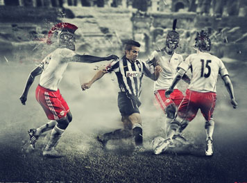 Del Piero vs Rome Wallpaper