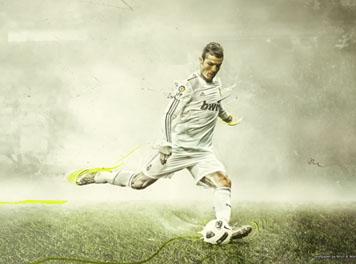 Ronaldo Real Madrid Football wallpaper