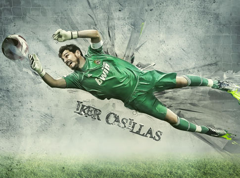 Iker Casillas by Mish-A-Man