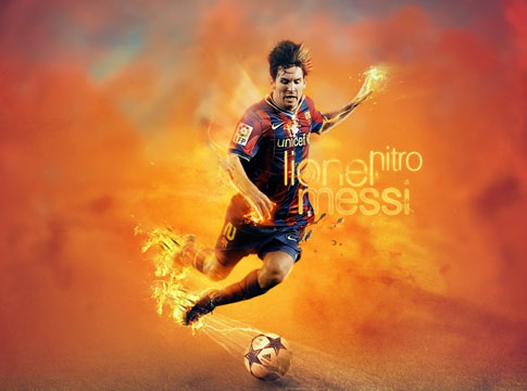 Lionel Messi by Mish-A-Man