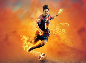 Lionel Messi Barcelona Football wallpaper
