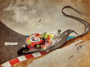 Valentino Rossi Ducati MotoGP wallpaper