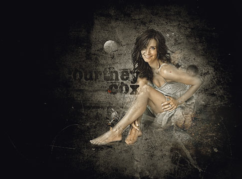 Courtney Cox by Mish-A-Man
