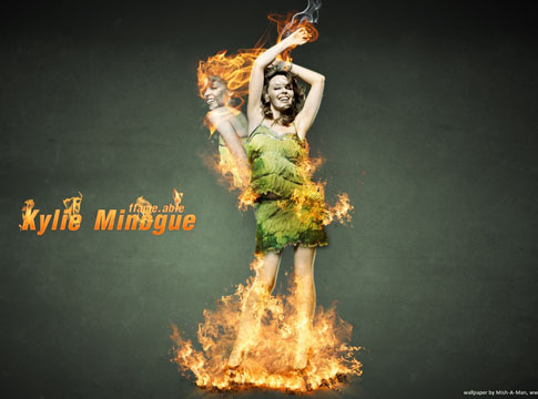 Kylie Minogue by Mish-A-Man