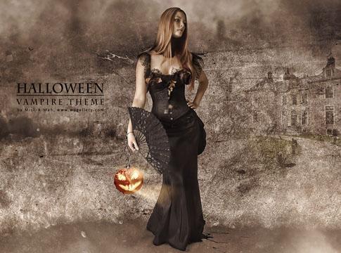 Halloween - Vampire theme by Mish-A-Man