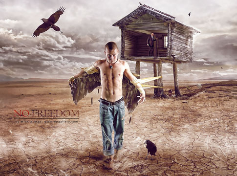 No Freedom by Mish-A-Man