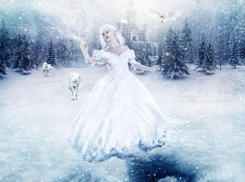 Winter Princess by Mish-A-Man