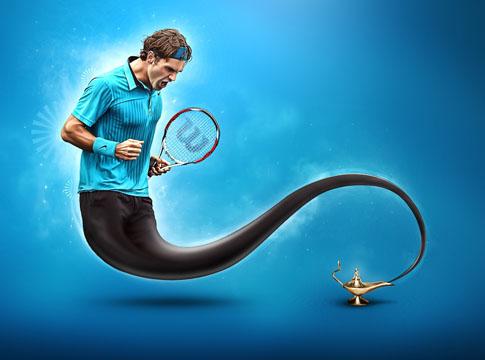 Roger Federer by  Rokas Me�etis