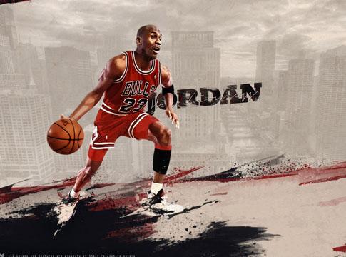 Michael Jordan by J1897
