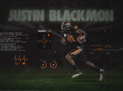 Justin Blackmon by J1897