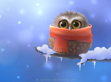 Little Owl paper Wallpaper