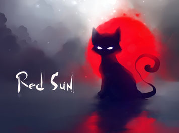 Red Sun Wallpaper